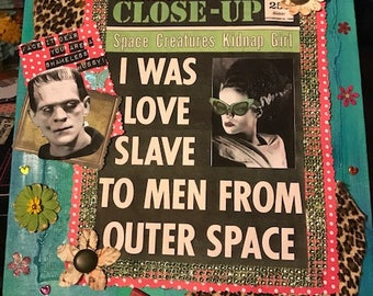 Outer Space Love Slave Collage