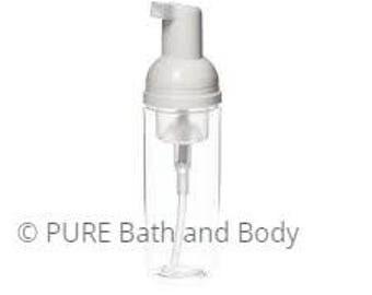 foaming soap dispenser pet clear plastic refillable - Foam Soap Dispenser