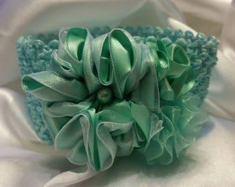 Girls Seafoam Green Princess Headband