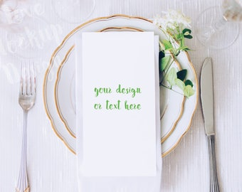 Table Card / Stock Photography / Product Mockup / High Res File