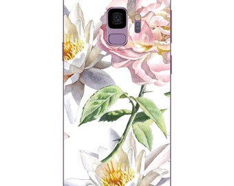 Samsung Galaxy S9 / S9 Plus case cover Floral