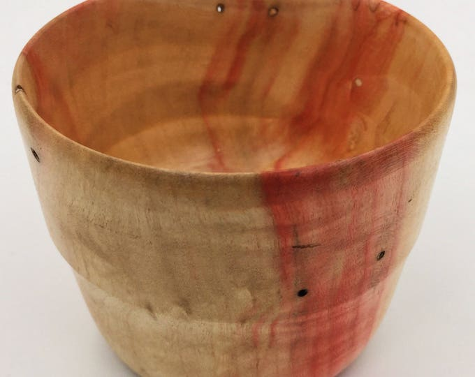 Small Flaming Box Elder Wood Bowl / Catch All