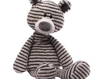Black and White Stripped Teddybear