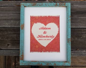 Valentines Day gift, Valentine decor, Valentine gift, heart decor,heart gift, rustic decor, wedding gift, anniversary gift, home decor