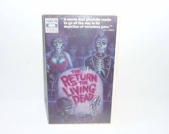 Vintage Horror Movie The Return of the Living Dead 1984 Edition OOP Thorn 1st ED