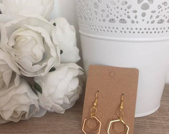Earrings Golden Benya
