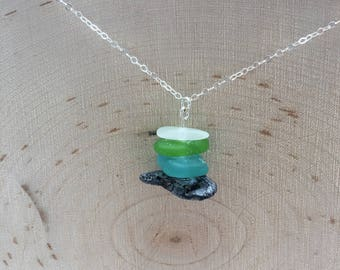 Gifts from the Sea Sterling Silver Pendant necklace
