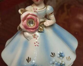 Josef Original June Birthday girl Figurine 0rnement with original tag
