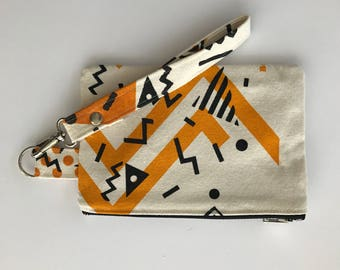 Frida printed hand bag/Boobie Power 18cm