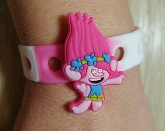 10  Troll Silicone Bracelets Party Favors