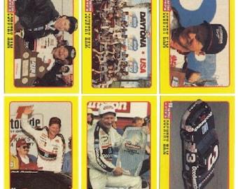 1991 Traks Mom-N-Pop's Ham Dale Earnhardt 6 Card Set