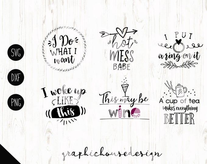 cutting files bundle, svg designs bundle, svg quotes, cut file quotes, hubby, wife, mug svg designs, silhouette cameo designs, cricut design