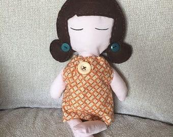 fabric doll - Le Dolls