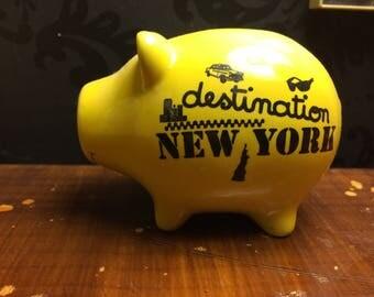 Pig piggy bank ORIGINAL
