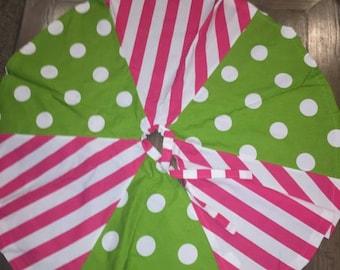 Christmas tree skirt.
