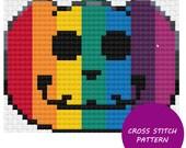 Rainbow Jack-O-Lantern Cr...
