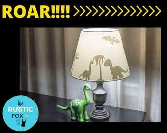 Dinosaur lamp shade Etsy
