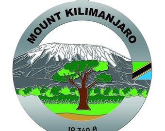 Mount Kilimanjaro Medal