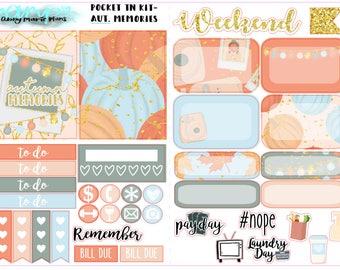 Autumn Memories - Pocket TN Kit