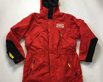 Marlboro parka 90s Marlboro Hooded Jacket 1990s  Marlboro Adventure Team Coat.