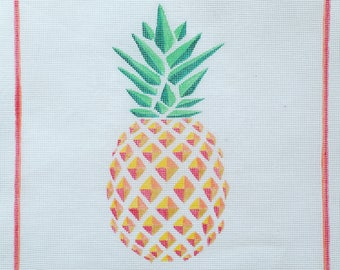 Pineapple Needlepoint - Canvas ONLY