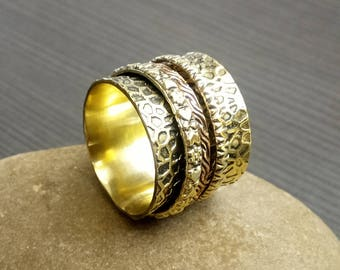 Prayer spinner rings | Ethnic rings | Birthday gift jewelry | Indian fashion rings | Women gift jewelry ring | Hand crafted rings | R41