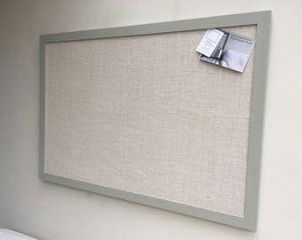 Large Bulletin Board Memo Board Fabric Covered Magnetic