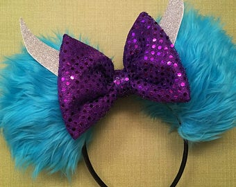 Monsters Inc Sulley Inspired Ears