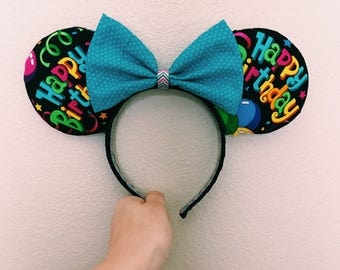 Birthday Mouse Ears