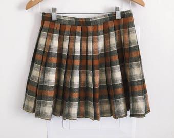60s/70s Pleated Skirt
