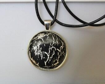 Amulet Talisman Lightning Handmade Pendant
