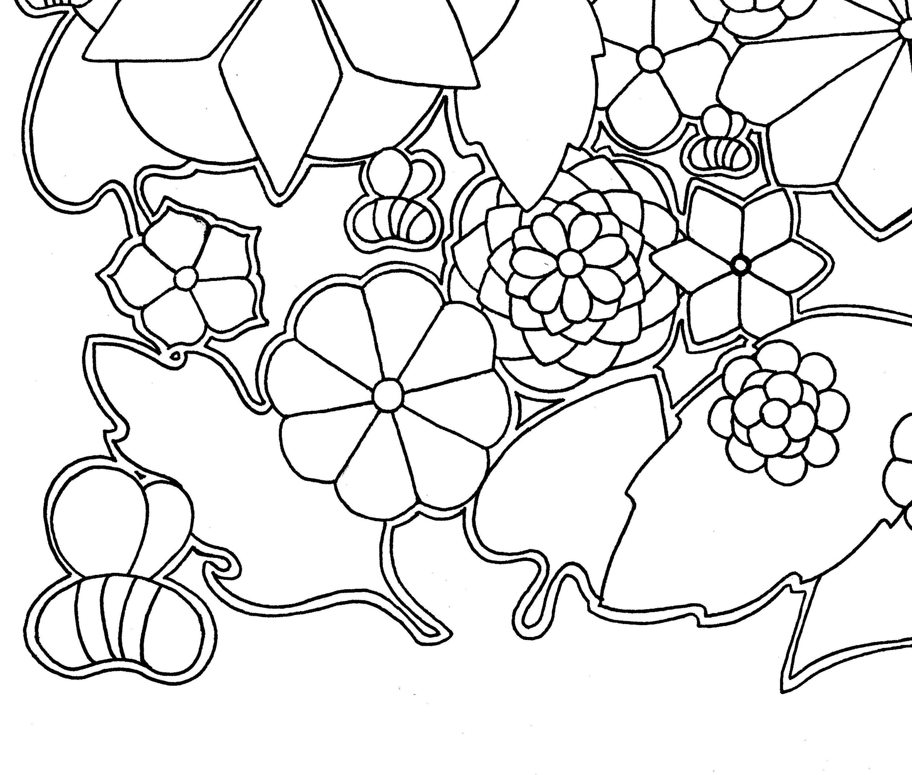 bees iii coloring page coloring instand download