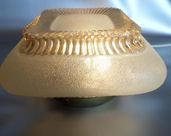 Vintage ceiling lamp * ceiling light ceiling lamp, wall lamp * * the deckenlampe * original 1950s