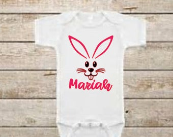 Easter - easter outfit - easter bunny - easter onesie - easter shirt - fashion - personalized onesies - baby shower gift - baby onesie