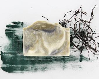 SEAWEED SOAP, All Natural Soap, Handmade Soap, Vegan Soap