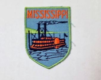 Mississippi - Vintage Patch for Jackets, Backpacks, Jeans/Clothing, Crafts