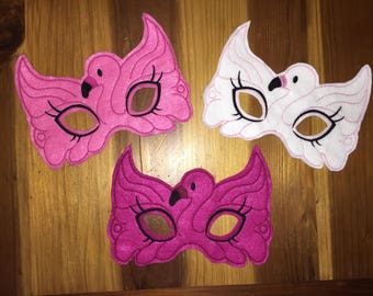 Flamingo Felt Masks