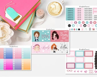 Pretty Girls Weekly Kit-ECLP-Happy Planner