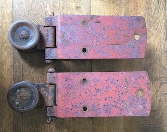 Antique Barn Door Hardware, Antique Barn Door Rollers, Antique Door Hardware, Barn Door Gliders, Architectural Salvage