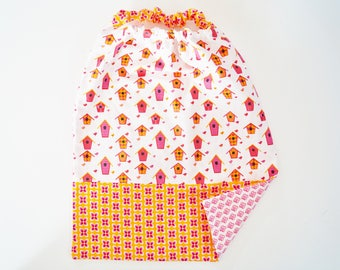 "elastic child towel ""niche of bird"""