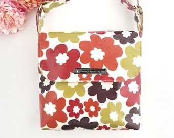 festival bag, floral purse, floral bag, flower bag, boho bag, retro bag, floral crossbody bags, fabric bags, Mother's Day gift