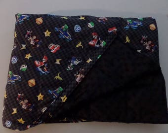 10lb Mario Cart Weighted Blanket Gravity Hug Sensory Deep Pressure Therapy, Calming, Autism, SPD, ADD, ADHD, Poly Pellets, Canada