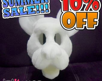 10% OFF - Fursuit Canine-Wolf-Dog Head Base Foam - Commission