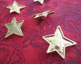 SHOOTING STAR BUTTONS - Set of 5