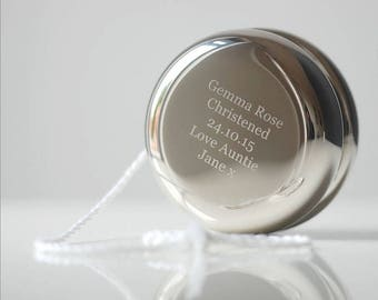 1st Christmas Yoyo With Personalised Engraving