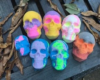 Sugar Skulls bath bomb 5 pack