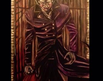 The Joker leaves Arkham