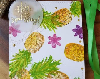 Hey sweet thing, pineapple
