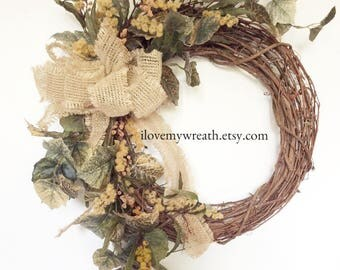 wreaths for front door, wreaths for porch, rustic farmhouse wreaths, rustic spring wreaths, farmhouse spring wreaths, rustic door decor