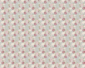 Tilda fabric 50 x 55 cm Zoe blue coupon